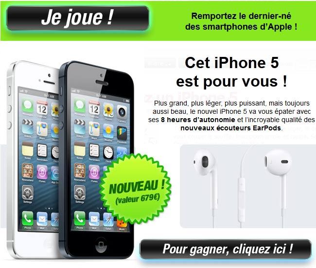 gagner un iphone gratuitement et facilement au maroc